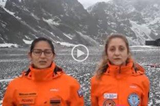 Meteorólogos cuentan cómo es estar confinados en la Antártida