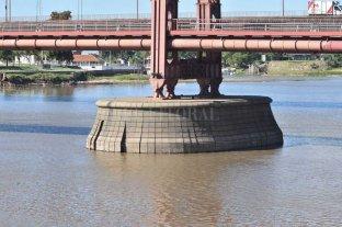 El Río Paraná volvió a bajar y quedó en 1,18 mts - Poca agua en la Laguna Setúbal. -