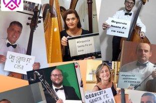 La Sinfónica en cuarentena: videos caseros, estudio individual y ganas de volver a ensayar - Los músicos de la Orquesta, a través las redes sociales, comparten su música y se suman a la concientización para que la gente permanezca en sus casas. -