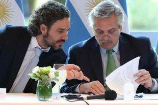 Alberto Fernández analiza en Olivos junto al Jefe de Gabinete la extensión de la cuarentena