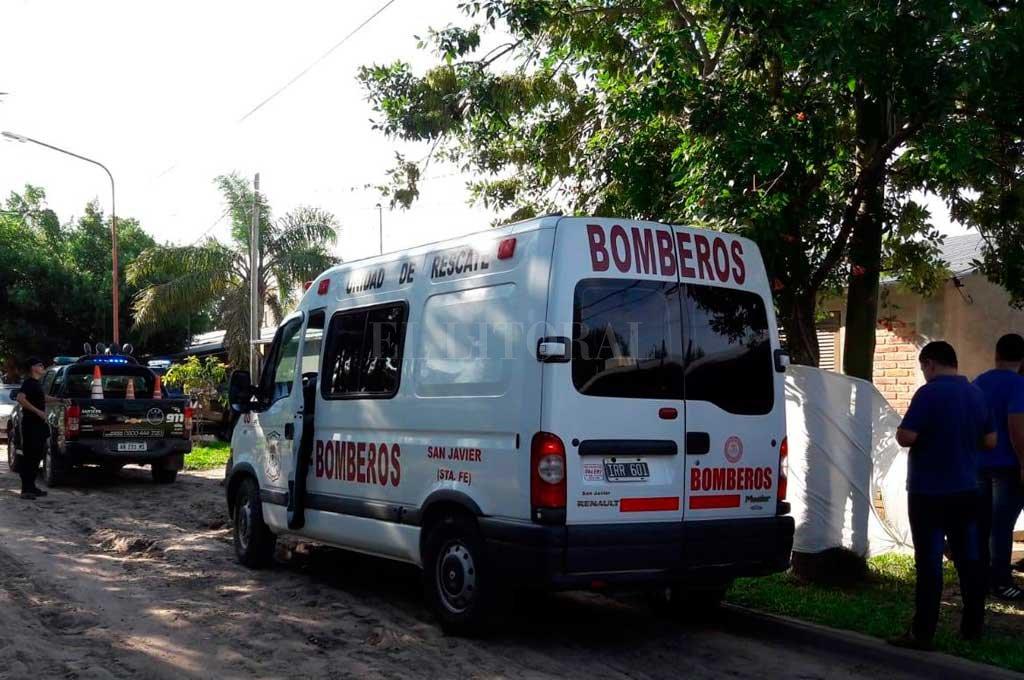 EL trágico hecho se produjo en horas de la tarde del domingo 12 de enero, en la vereda de calle Pueblo Mocoví al 1500.  Crédito: Corresponsalía San Javier