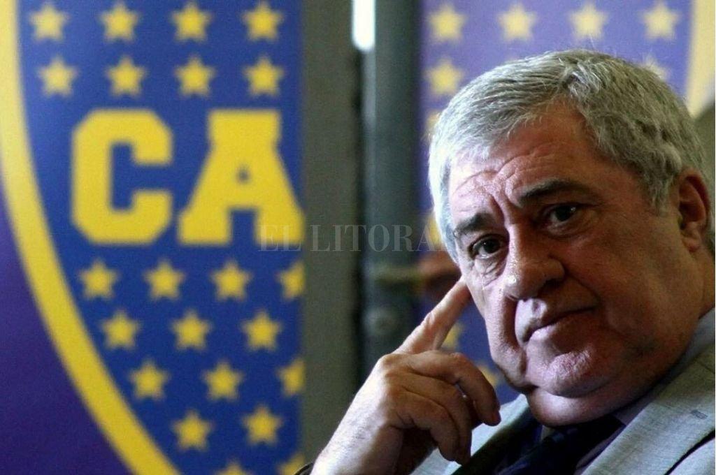 """Tajante. """"Ningún empleado de mi club va a sufrir un recorte en su salario"""", dijo Ameal. Crédito: Archivo"""