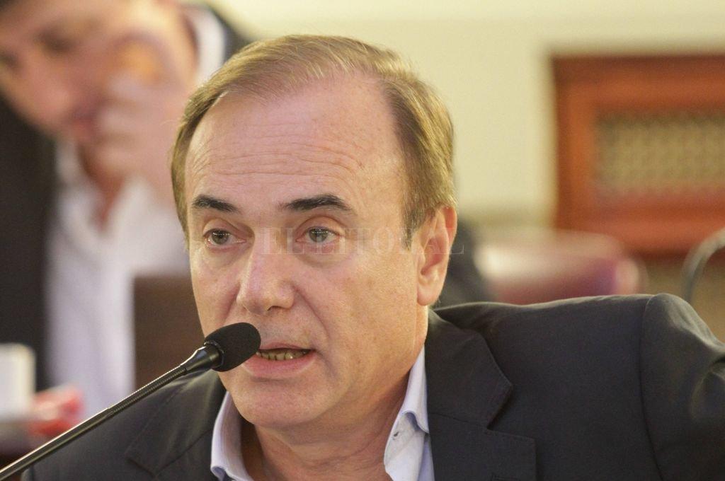 Eduardo Di Pollina.  Crédito: Archivo El Litoral