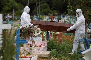 Brasil registró 141 muertos por coronavirus en las últimas 24 horas y el total trepa a 941