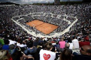 El Master 1000 de Roma podría disputarse en el mes de octubre