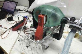 La Universidad Nacional de Rafaela diseñó y desarrolló un dispositivo de asistencia respiratoria
