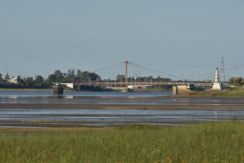 Así está el río este domingo 12 de abril Crédito: Flavio Raina