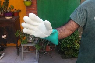 Santo Tomé: crearon un prototipo de guantes que inhibiría al coronavirus