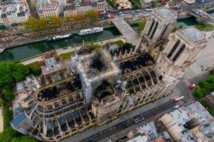 A un año del incendio, la reconstrucción  de Notre Dame esta frenada por el coronavirus
