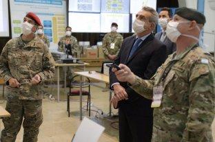 """Rossi: """"Toda la capacidad de las Fuerzas Armadas está a disposición del combate contra la pandemia"""""""