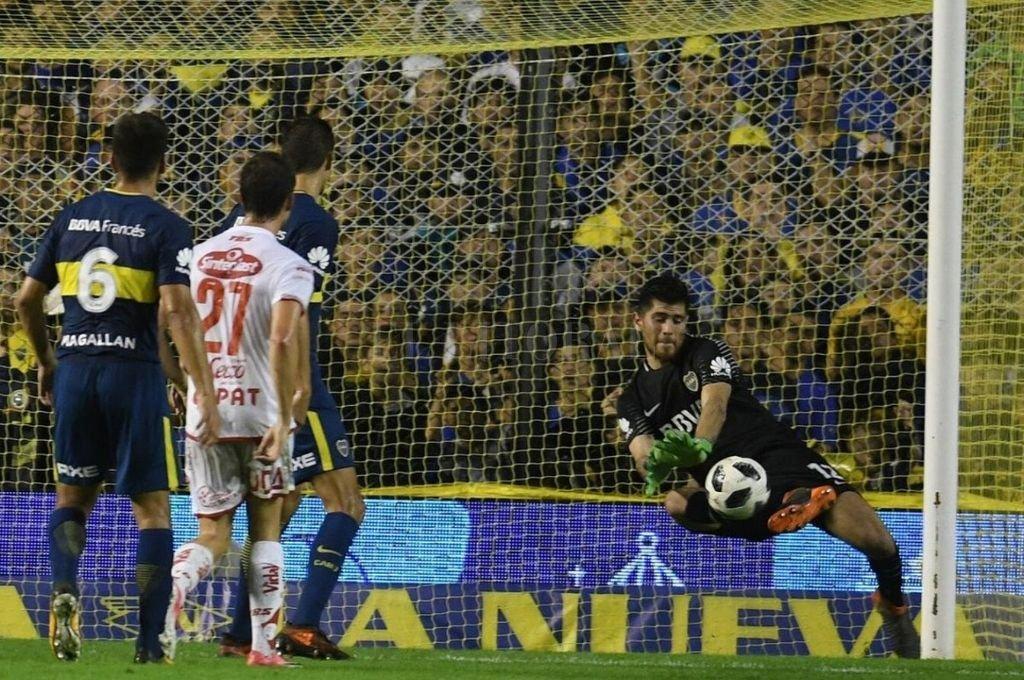 Agustín Rossi volvería a Boca para reemplazar a Andrada, que tiene futuro europeo.    Crédito: Archivo