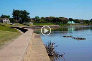 Sin datos actuales, el Río Salado también se muestra bajo