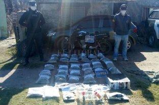 """""""Cuarentena verde"""": secuestraron más de 60 kilos de marihuana"""