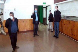 Marcón recorrió instalaciones del complejo Arno