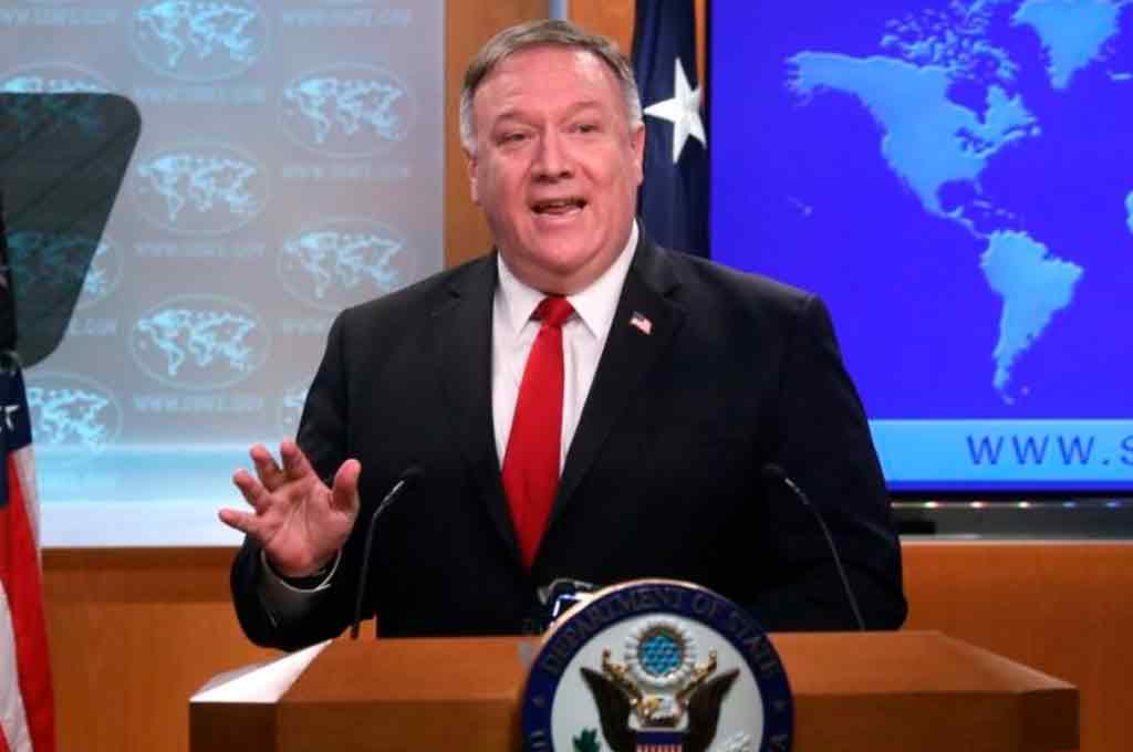 El Secretario de Estado norteamericano, Mike Pompeo. Crédito: Reuters.