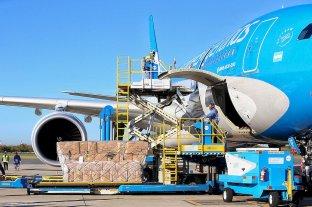 Aerolíneas Argentinas utilizará un nuevo sistema ideado por Airbus para la carga en vuelos a China