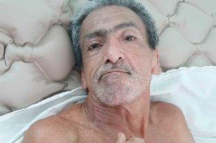 Buscan familiares de Antonio Bertozzi, quien está internado en el hospital Sayago de Santa Fe