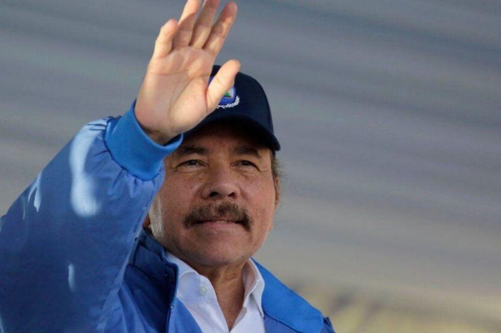 El presidente de Nicaragua, Daniel Ortega, que había estado ausente durante semanas desde que comenzó la pandemia.    Crédito: Gentileza