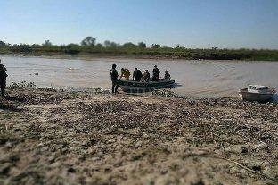 Romang: rastrillan el Paraná para buscar a Tito Ares
