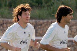 """Roberto Ayala: """"Al principio Messi entrenaba porque era obligatorio, sino se quedaba en su pieza"""""""