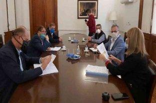 Cornaglia se reunió con Perotti y Rodenas para analizar la situación de la región