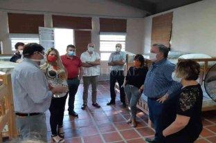 Michlig, González y Rajmil relevaron los centros de aislamientos dispuestos en Ceres y San Cristóbal