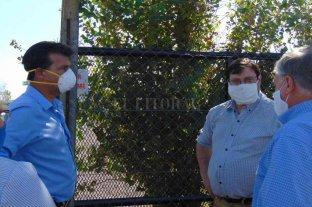 Diana y Rajmil visitaron centros de aislamiento