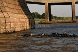 Bajante: ¿qué apareció junto al Puente Colgante?