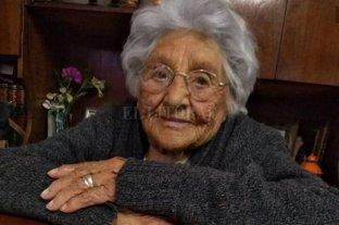 Emocionante: una abuela santafesina cumplió más años que el pueblo donde vive