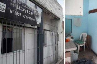 Vandalismo en escuelas, plazas e instituciones de la ciudad