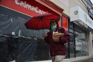 Panorama desolador en los comercios: locales cerrados y otros ya están vacíos