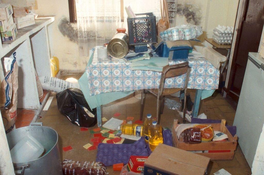 Cada incursión delictiva significa destrozos en materia edilicia y pérdida de materiales de trabajo Crédito: El Litoral