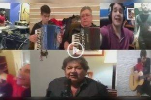 """Video: Los Palmeras """"la rompieron"""" en los festejos del aniversario de Colón"""