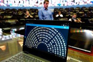 Solo resta la oficialización del temario de la Sesión Virtual de Diputados