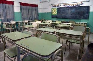 Aulas vacías: la provincia no evaluará el primer trimestre