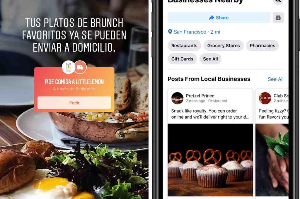 Facebook e Instagram suman recursos para apoyar a los comercios ...