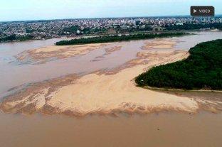 Imágenes nunca vistas de la bajante del Río Paraná y las consecuencias del fenómeno