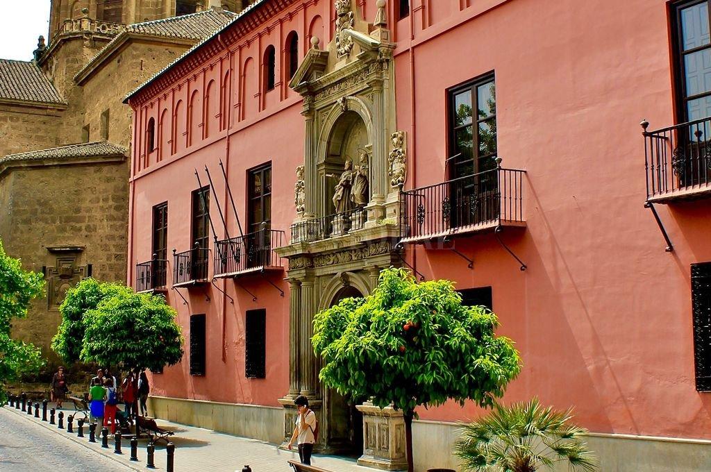 Real Colegio Mayor San Bartolomé y Santiago de Granada. Crédito: Wikipedia