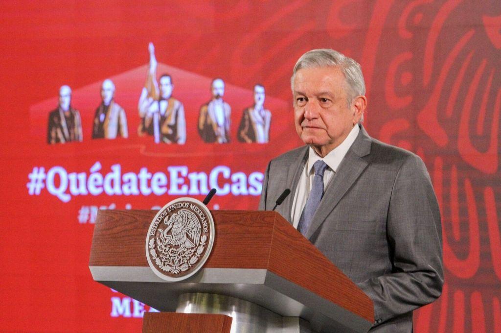 Andrés Manuel López Obrador, presidente de México. Crédito: DPA