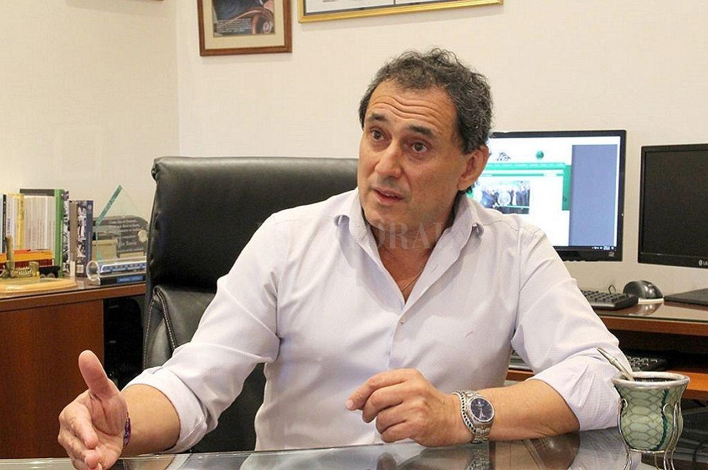 Sergio Sasia, titular de la Unión Ferroviaria (UF).  Crédito: Captura digital