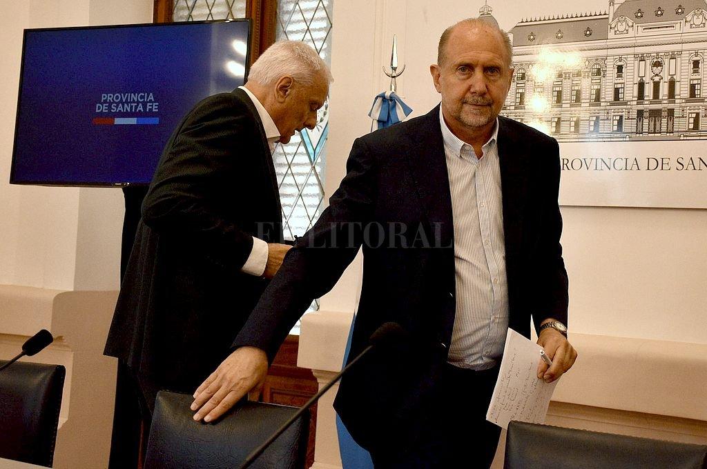¿Caminos diferentes para el gobernador y el ministro de Salud? Crédito: Guillermo Di Salvatore