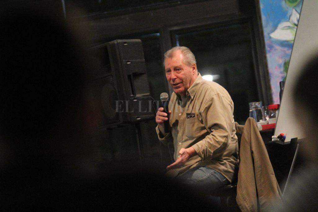 El dramaturgo Mauricio Kartun. Crédito: Archivo El Litoral / Pablo Aguirre