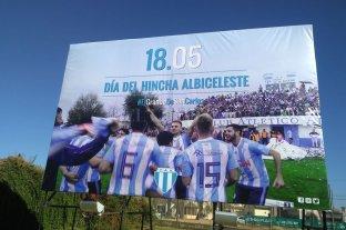 Argentino festeja el día del hincha albiceleste