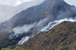San Luis: fueron controlados los incendios forestales pero temen nuevos focos por fuertes vientos