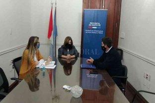 Pirola se reunió con Frana para avanzar en proyectos para cinco localidades de Las Colonias