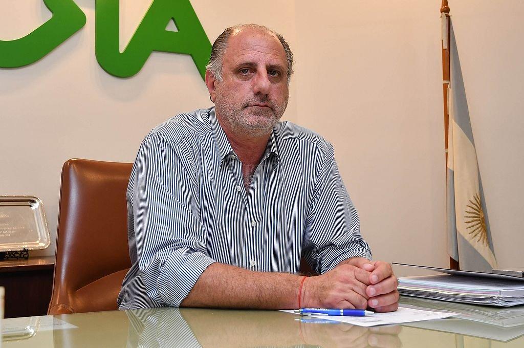 Jorge Chemes, presidente de CRA. Crédito: Archivo El Litoral