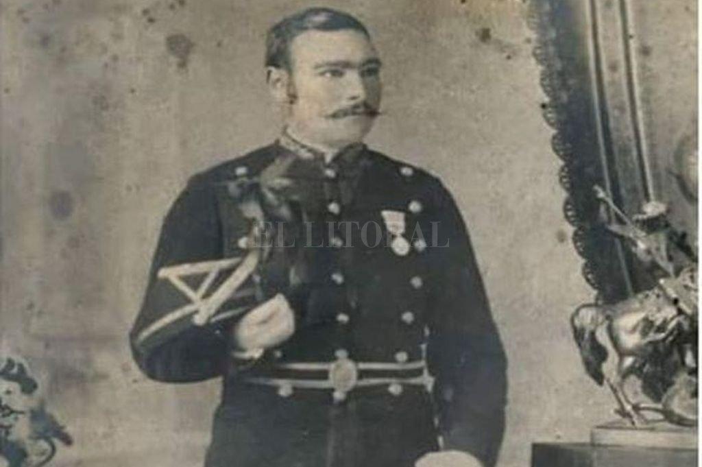 Fotografía del Coronel Pedro Pablo Rosas y Belgrano, hijo del General Manuel Belgrano. Crédito: Archivo General de la Nación