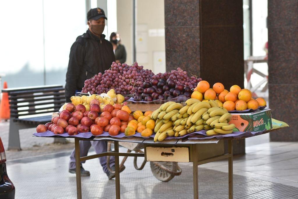 Frutas y Verduras. Alimentos saludables siempre, mucho más en épocas de confinamiento. Crédito: Guillermo Di Salvatore