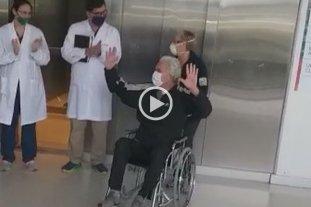 Emotivo: le dieron de alta al único santafesino internado por coronavirus