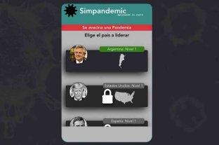 Simpandemic: un juego online que te permite ser Alberto Fernández y combatir la pandemia